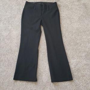 Maurices Black dress pants 5/6 Short